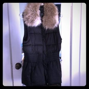 Winter Vest by Moda international Victoria Secret